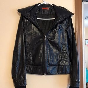 Alice + Olivia Patent Leather Jacket